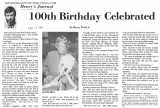 100th bithday celebrated