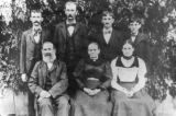 (L-R front row) Frederick Kolle Sr., Sophie (Polka) Kolle, Selma Kolle, (back row) Frederick Kolle...