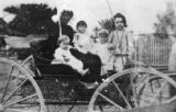 "(L-R) Hallie Hill, Martha ""Mattie"" S. Hill (mother), Agnes Hill, Norma Hill, and Ruth..."